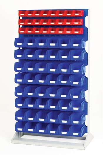 5S Lean Part Bin Storage