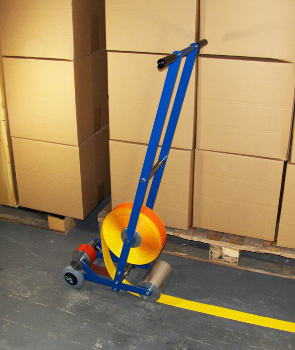5S Aisle Marking Tape Applicator System For Warehouses UK
