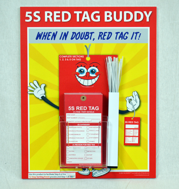 5S Red Tag Buddy