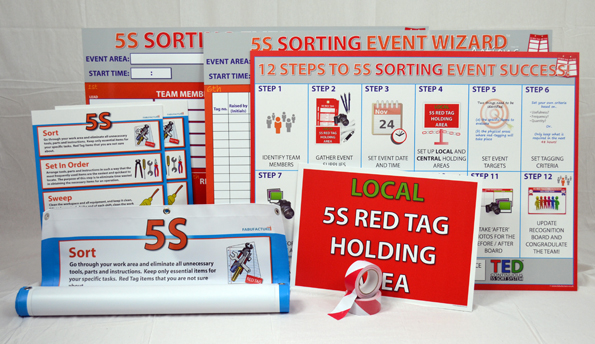 5S Sort Event Success™ Kit - BRONZE_SKU-9171