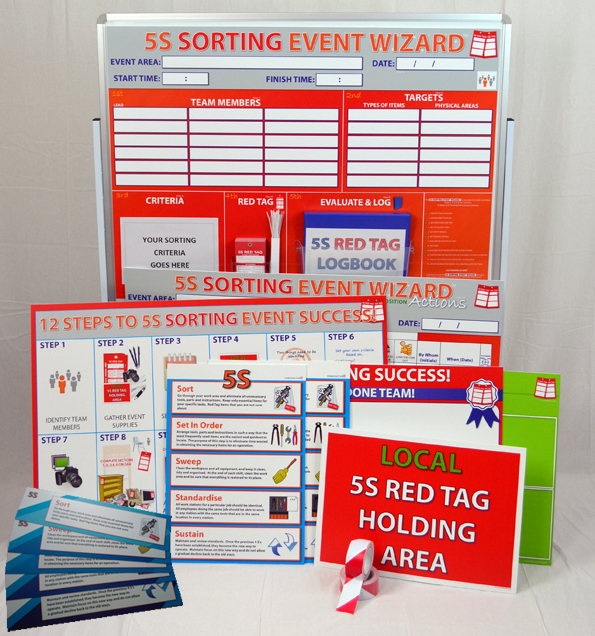 5S Sort Event Success™ Kit - SILVER_SKU-9158