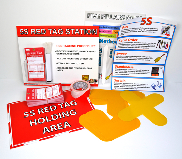 5S SORT (RED TAG) EVENT KITS