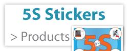 5S-Stickers