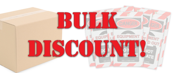 Bulk Discount Lock Out Tags