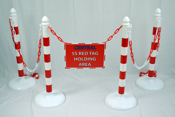 5S Red Tag Holding Area - SILVER_SKU-9313
