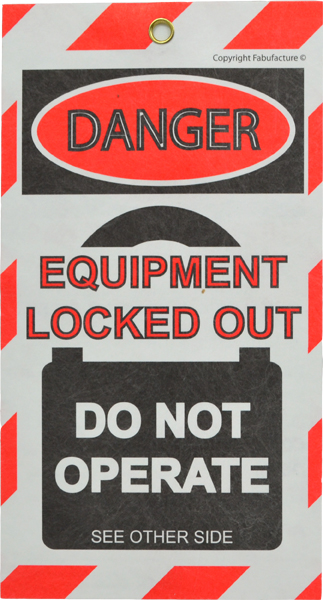 Lock Out Tags UK (Qty 10, 50, 100) _SKU10758