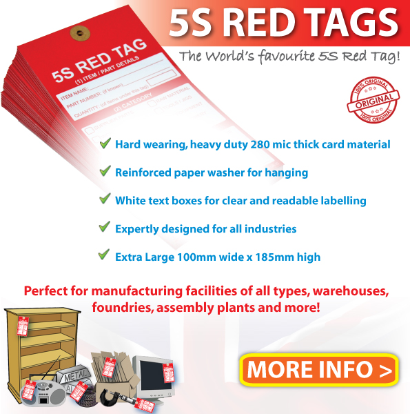5 S Red Tags UK