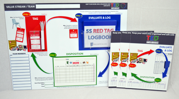 TED™ Kit - BRONZE (Continuous 5S Sort System)_SKU-9867
