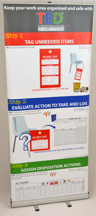The TED™ Training and Awareness Banner _SKU-9711