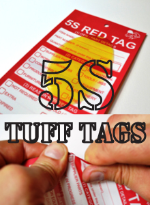 5S Red Tags - HARSH ENVIRONMENT / OUTDOOR_SKU-10224