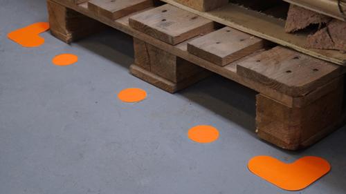 Colour 5S Pallet Markers