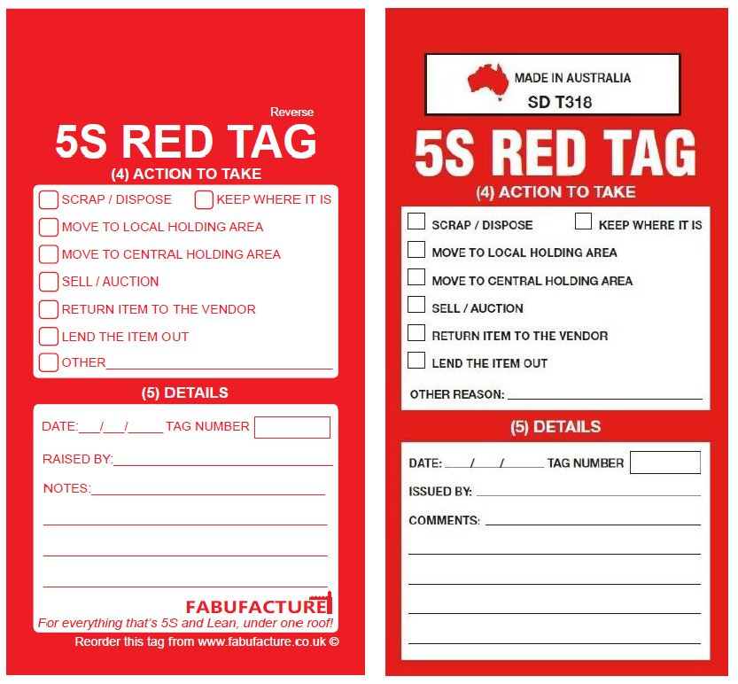 Industroquip Infringement Side 2 - Copyright 5S Red Tag