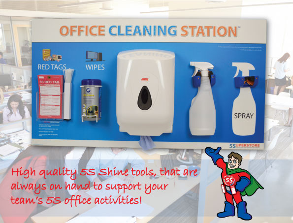 5s Office Cleaning Shadow Board Fabufacture Uk