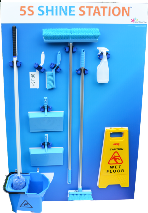 5S Cleaning Station - Platinum Edition (All Tools Included) _SKU-10843